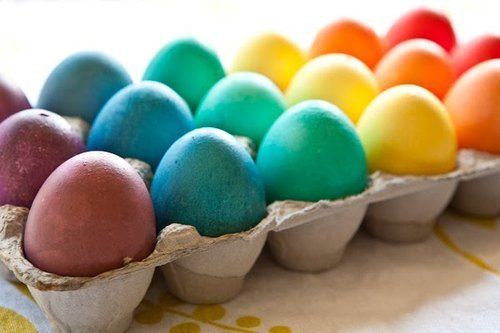 Rainbow eggs: Happy Day, Rainbows Eggs, Colors Eggs, Holidays, Abacus, Easter Eggs, Diy Projects, Confetti Eggs, Parties Games