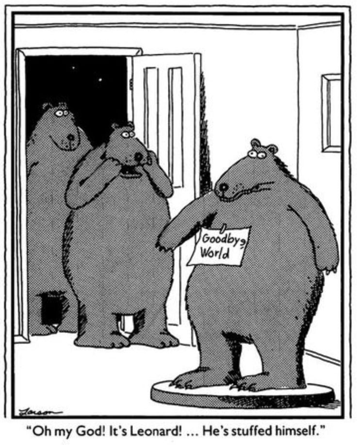 Natural Selection Far Side