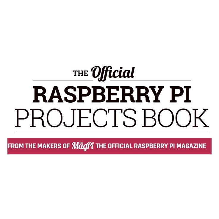 The creators of The MagPi magazine have released a projects book. It is available as a paid for physical copy or free PDF download. #RaspberryPi