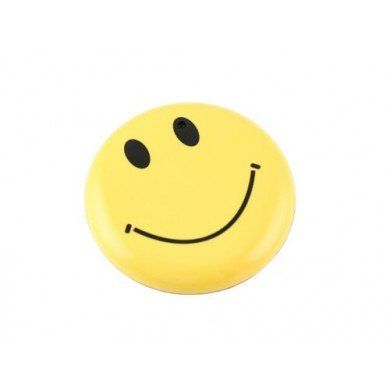 Smile Pin with Hidden Video Camera.