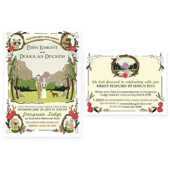 39 best national treasure invites images on pinterest invites illustrated wedding invitation suite design fee stopboris Choice Image