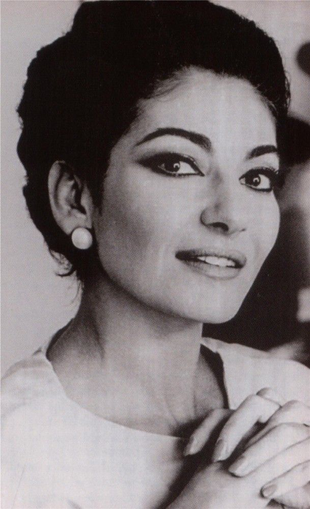 Maria Callas. Talented woman with a beautiful face and beautiful voice. crussshin.