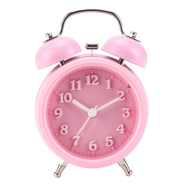 Alarm Clock Kids No Ticking Movement Cute Alarm Clock For Girls And Teens Alarm Clock For Heavy Sleeper Review Cute Alarm Clock Alarm Clock Kids Alarm Clock