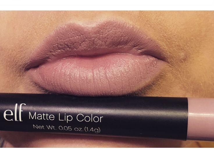 Elf Matte Lip Color in Tea Rose @brittanylynnc7