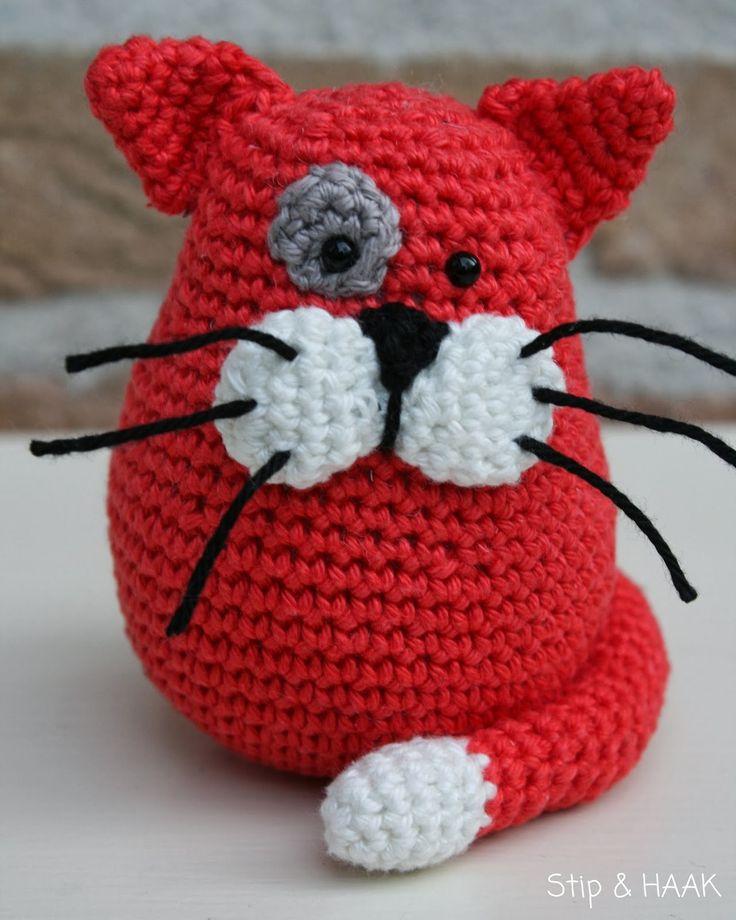 Crumb, the amigurumi cat.  #crochet #amigurumi