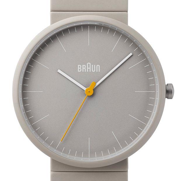 Braun BN0171 (stone grey) watch by Braun. Available at Dezeen Watch Store: www.dezeenwatchstore.com