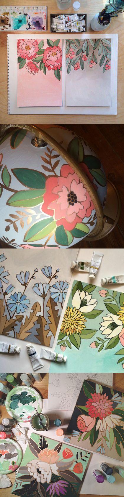 Florals | 1canoe2 Blog More