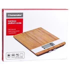Bamboo Platform Scale