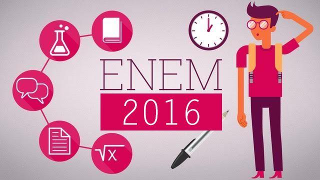 #News  Cerca de 30% dos participantes do Enem ainda não sabem onde farão a prova