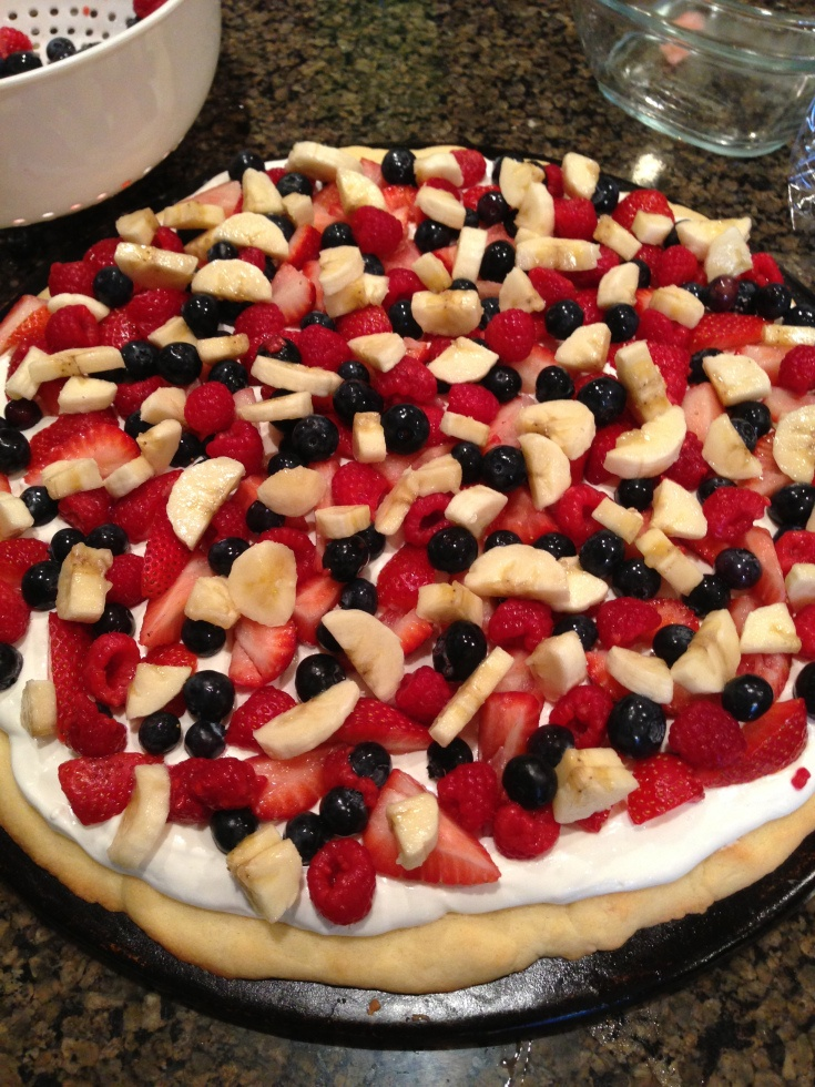 Fruit Pizza (I'm Back!) | Pizza, The o'jays and Fruit pizzas