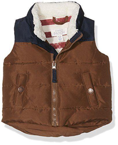 Pumpkin Patch Kids Baby Boy's Sleeveless Puffer Vest (Inf
