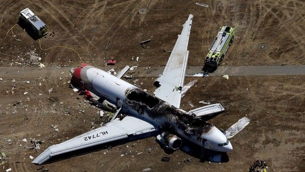 #Video incidente aereo #SanFrancisco: #Boeing777 #Asiana Airlines