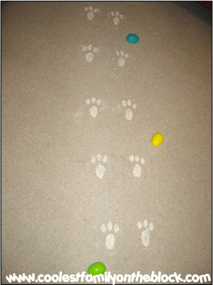 Find a free printable Easter Bunny paw print template/stencil here! Front and back paws! :) Last year on Easter we woke up to find that the Easter Bunny had left bunny tracks in the family room! At…