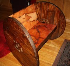 upcycled cable drum - Google Search