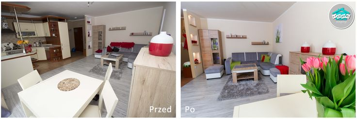 Metamorfoza mieszkania przy ul. Akwarelowej w Szczecinie