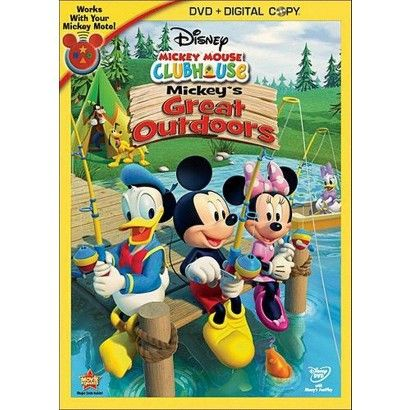 Mickey Mouse Clubhouse: Mickey's Great Outdoors (2 Discs) (Includes Digital Copy) (W)