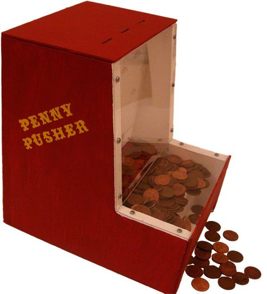 DIY Coin Pusher!