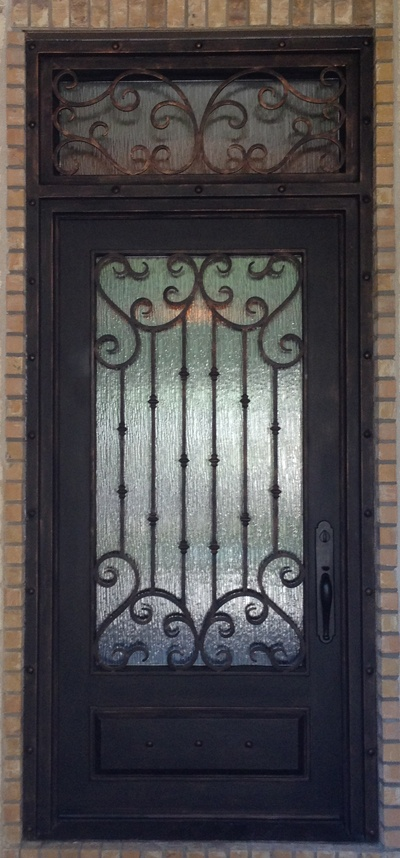 Single Entry Wrought Iron Doors Decorative Doors 183 Gates