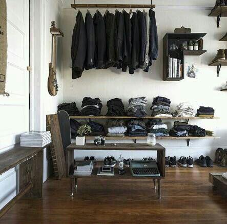 Best organised wardrobe for men!!