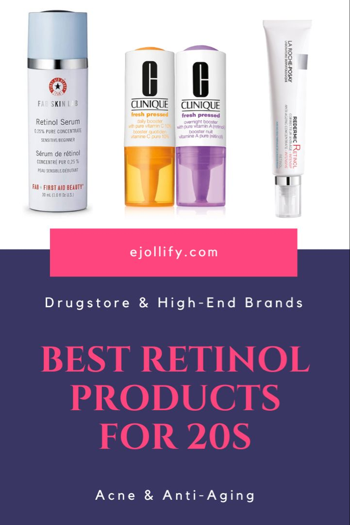 Best Retinol Products For Acne And Anti Aging 2020 Retinol Skincare For 20s Retinol Skincare Retinol Retinol Cream