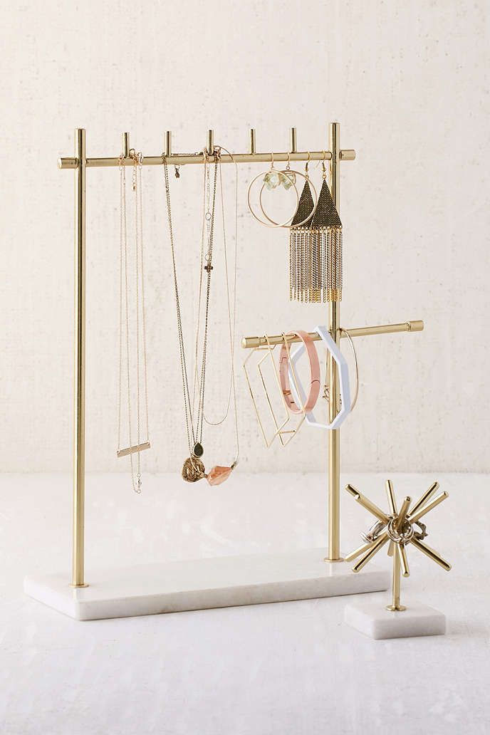 Sawyer Marble Jewelry Stand - Urban Outfitters