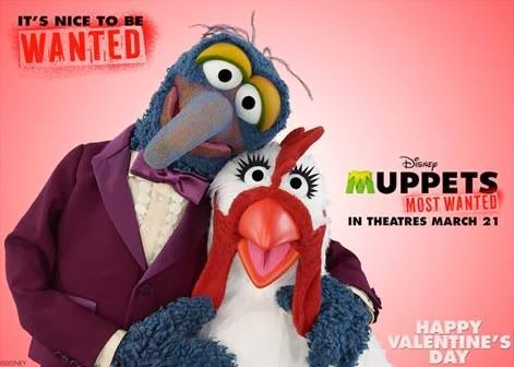 Saving Said Simply: Muppets Most Wanted - FREE Valentine eCards