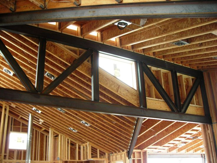 Exposed Trusses Ceiling Google Search Exposed Roof