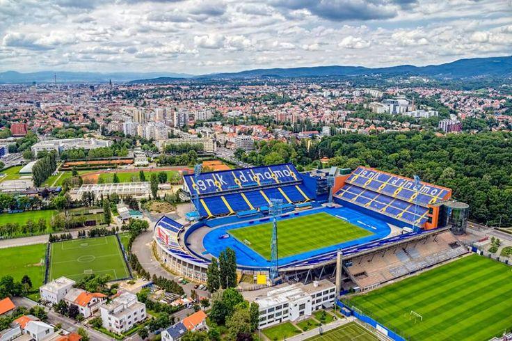 Stadion Maksimir, Zagreb (CRO). GNK Dinamo Zagreb.