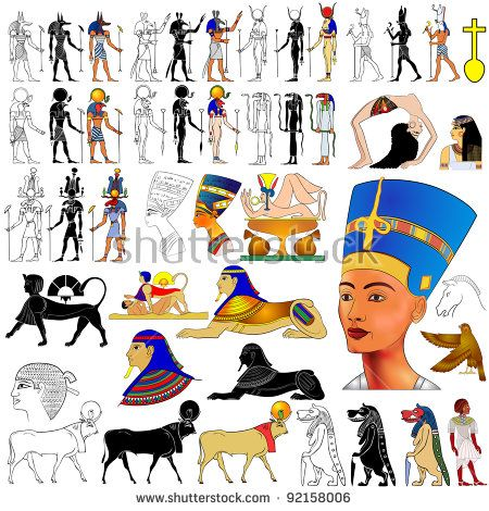 29 Awesome  ancient egyptian gods and goddesses names images