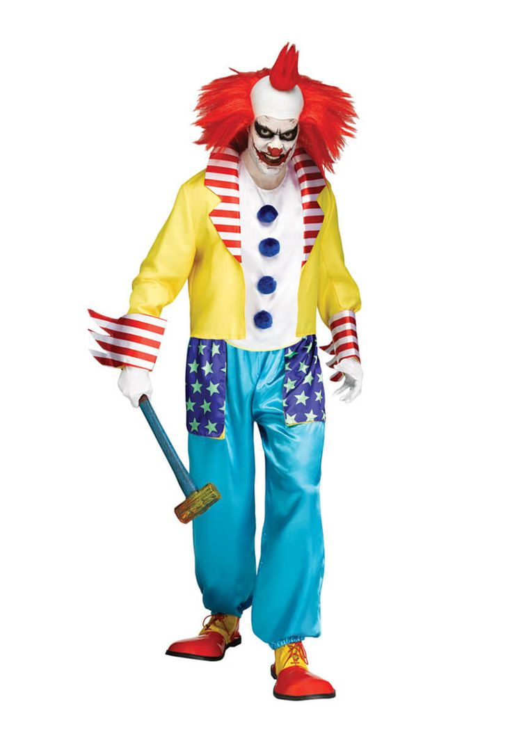 Wicked Clown Master - Scary Clown Costumes at Escapade #clowncostume