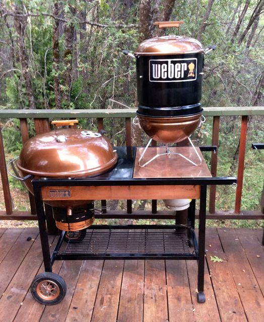 Project Quot Bisbee Quot Is A Weber Performer Grill Retrofit With