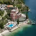 Panoramablick Hotel Capo Reamol Limone Gardasee