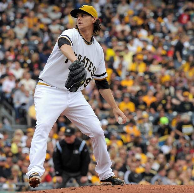 Pirates pitcher Jeff Locke (Photo credit: Christopher Horner  |  Tribune-Review)