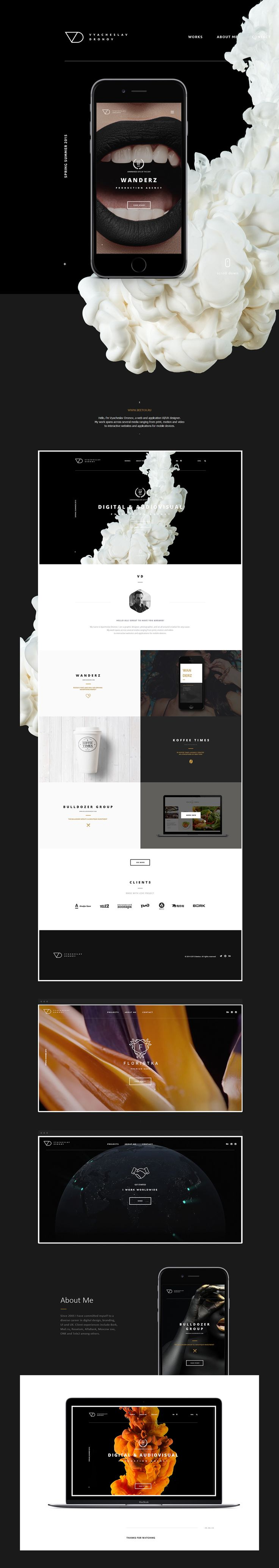 beetox.ru by 国外WEB灵感 - UE设计平台-网页设计,设计交流,界面设计,酷站欣赏