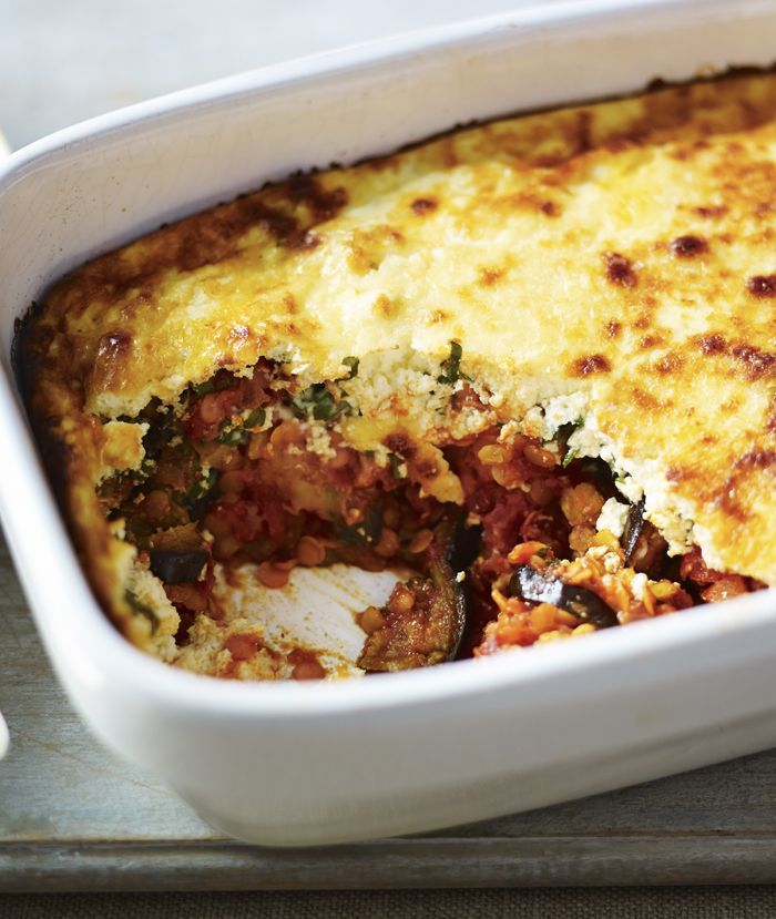 Have your favourite Greek moussaka but change up the lamb for healthy lentils. A Mediterranean treat!