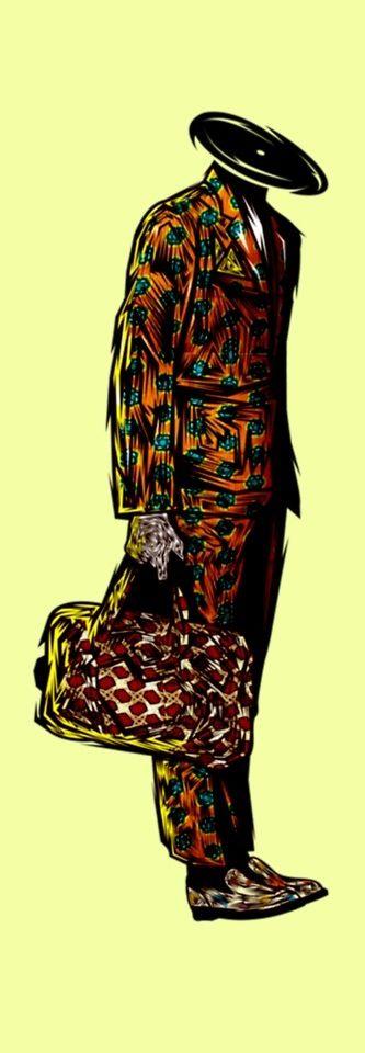 The Supreme Sapeurs - Sapeureme  #congo #patterns #colors #africa #style #textiledesign #illustrations