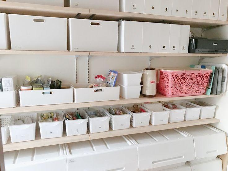 皆さんは納戸やパントリー作りましたか?<br /><br />うちは、少し広めなパントリーを作りました。<br />使用目的としては、食材(乾物、調味料、缶詰など)のストック置き場としてだけではなく、書類などの収納としても使いたくて広めにしました。<br /><br />そんな我が家のパントリーをご紹介。