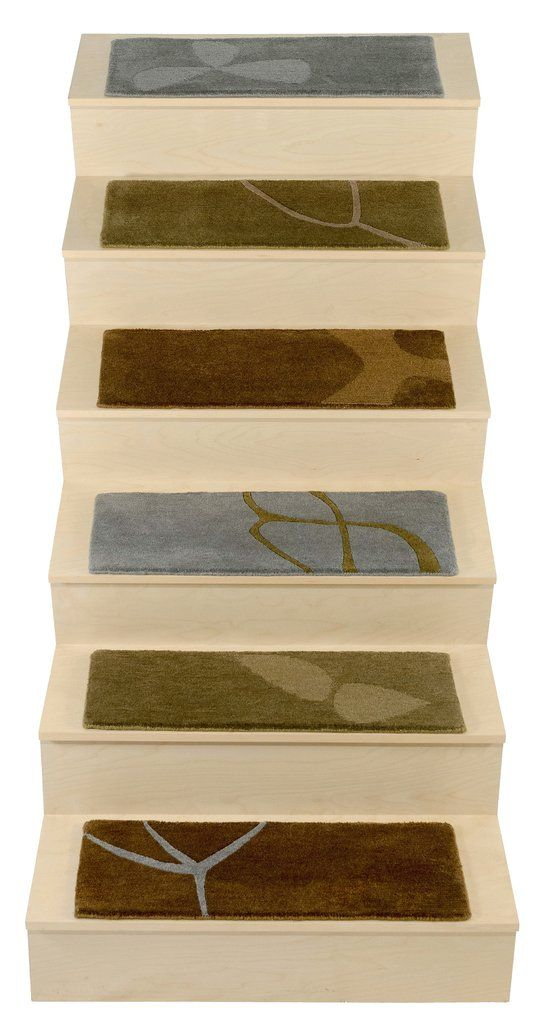 Best Hand Knotted Wool Stair Tread Rugs Spring Woods Stair 640 x 480