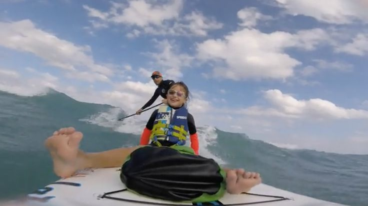 Paddler takes a young girl with special needs out for a heart-warming tandem SUP surf session.  The post Adorable Tandem SUP Surf Session appeared first on SUP Magazine.