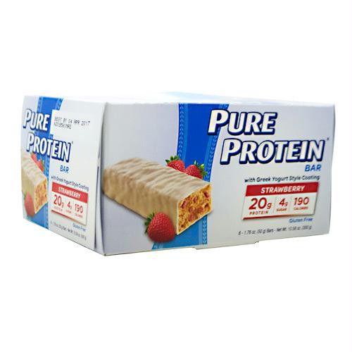 Pure Protein Pure Protein Bar Greek Yogurt Strawberry - Gluten Free