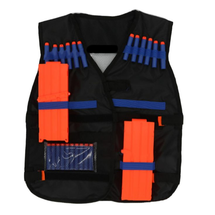 2017 Outdoor Tactical hunting Vest Kit For outdoor hunting Nerf N-strike Elite Games free shipping