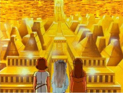 """""""Enfant du soleil, tu parcours la terre, le ciel..."""" Les Mystérieuses Cités d'Or"""