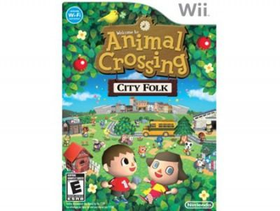 Animal Crossing. Good Wii game for those with little game experience.
