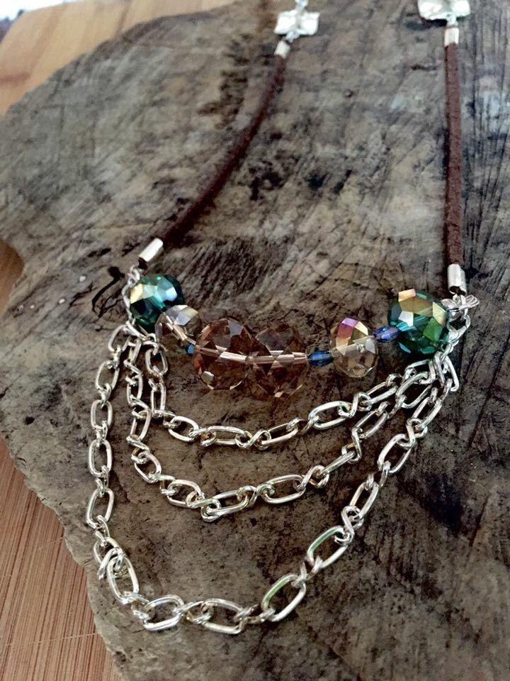 Le chouchou de ma boutique https://www.etsy.com/ca-fr/listing/265258749/deep-forest-necklace