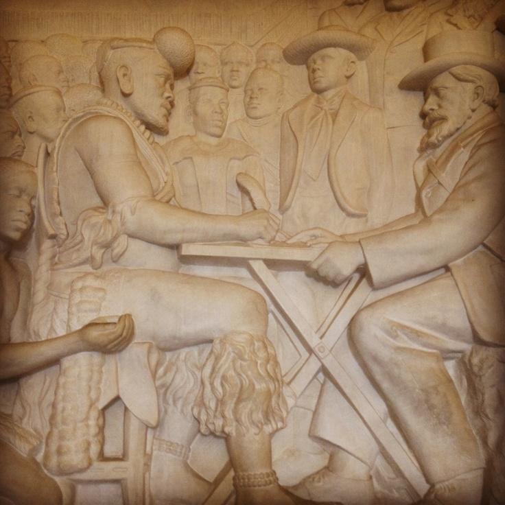 Relief sculpture, Voortrekker monument, South Africa