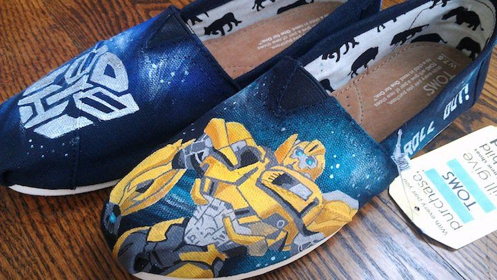Transformers Bumblebee   LaQuist ((ignore the fugliness of TOMS and appreciate Bee))