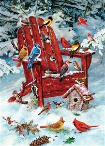 1000pc Adirondack Birds jigsaw puzzle | Cobble Hill Puzzle Company