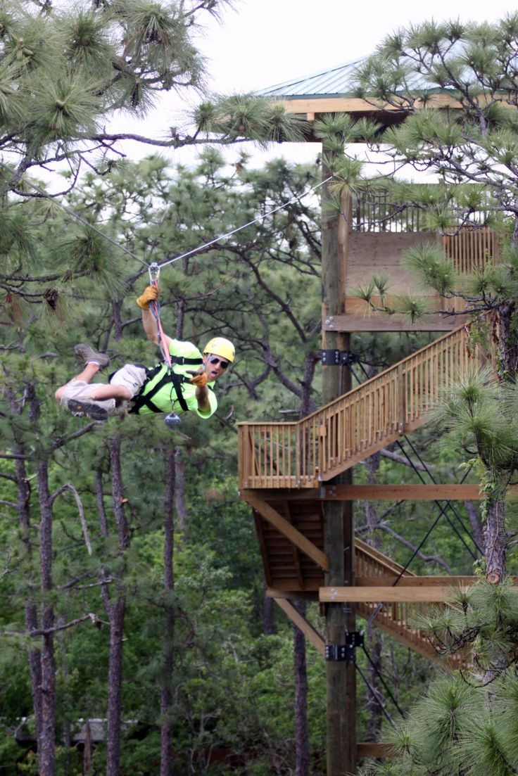 Experience the Screamin' Gator Zipline! One of the many outdoor adventures in Kissimmee, for your Central Florida Vacation. Follow the link for more ideas!