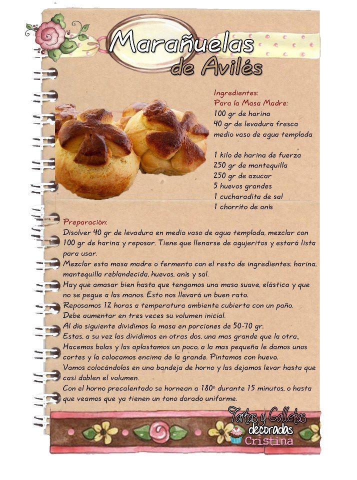 Marañuelas de Avilés. Existe una variedad de marañuela conocida como Marañuela de Avilés, que es una especie de pan dulce. Ambos dulces se denominan del mismo modo pero son absolutamente distintos.