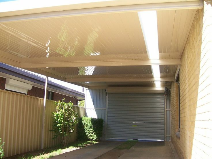 DMV carports with roller door Adelaide SA